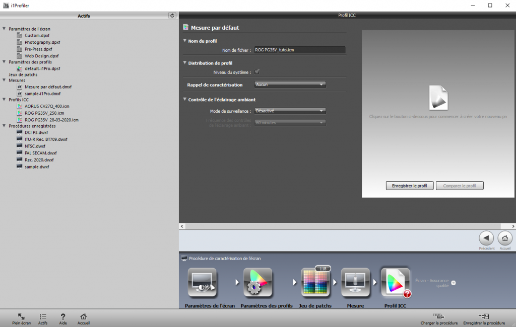 logiciel i1profiler