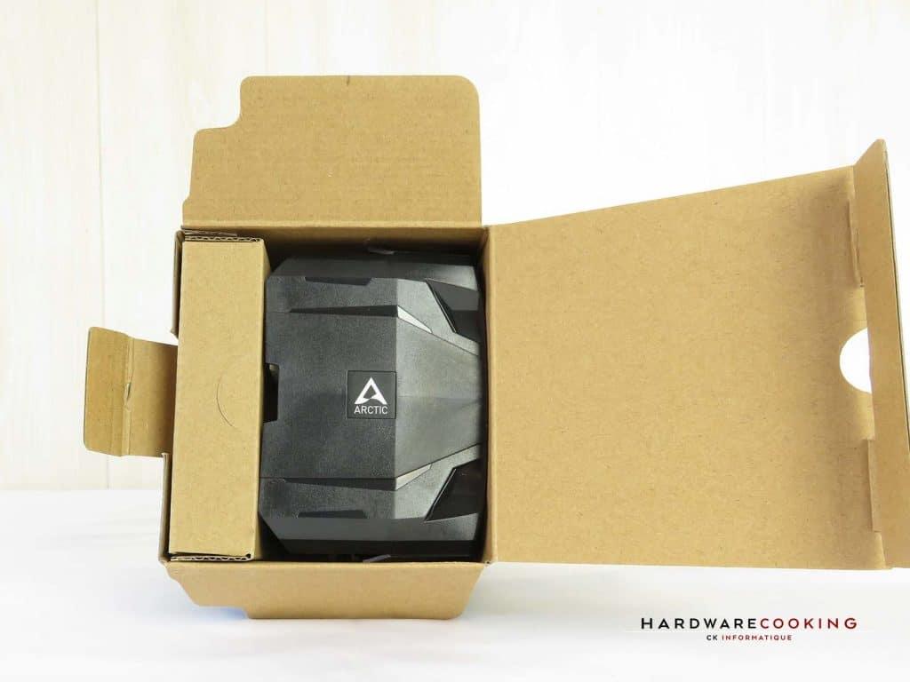 ARCTIC Freezer 7X boîte ouverte