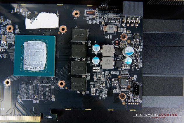 PCB et VRM GIGABYTE RTX 2060 GAMING OC PRO 6G