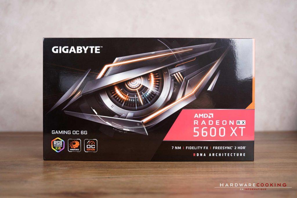 boîte GIGABYTE RX 5600 XT