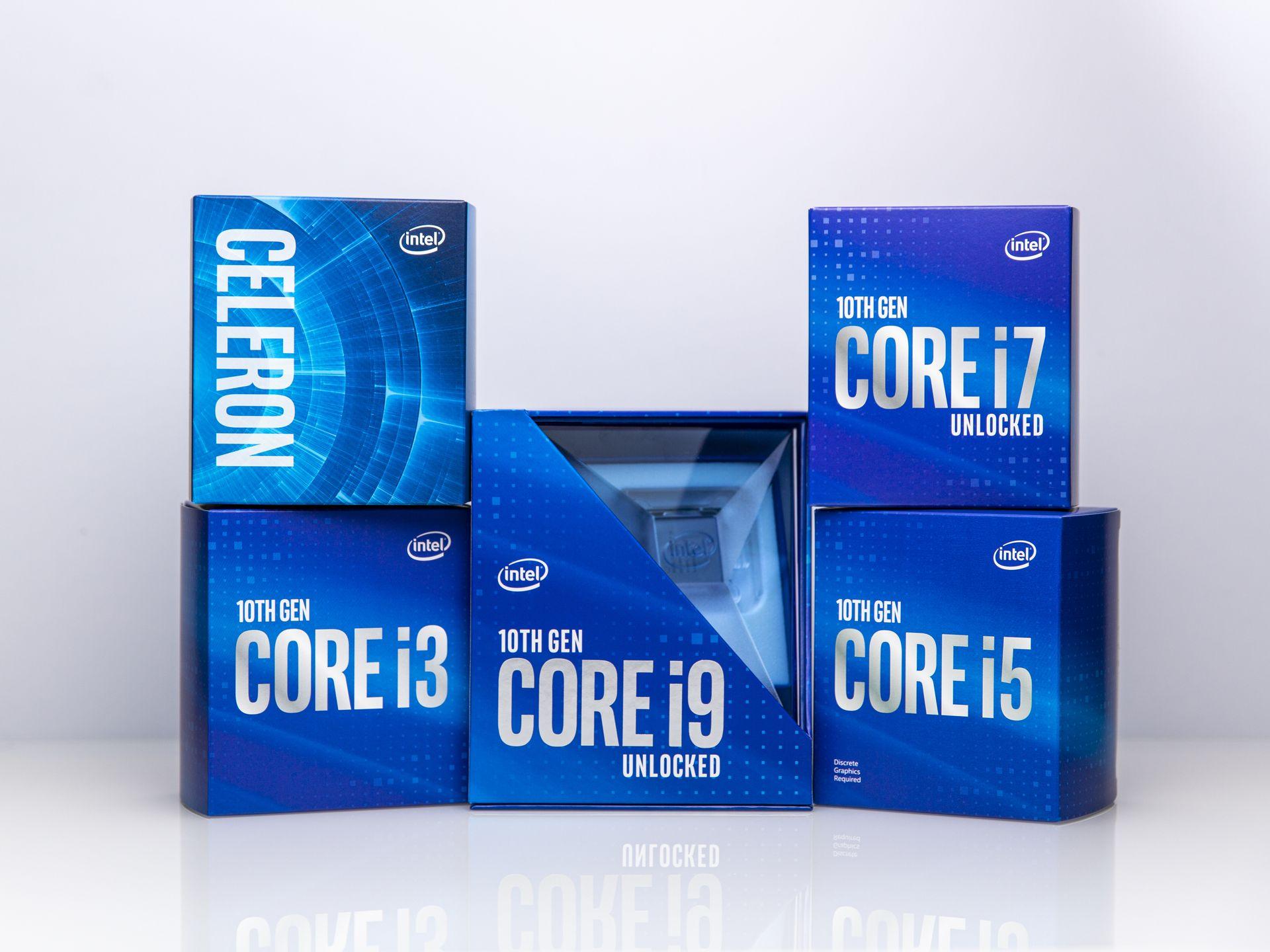 boîte processeur intel Core 10e génération