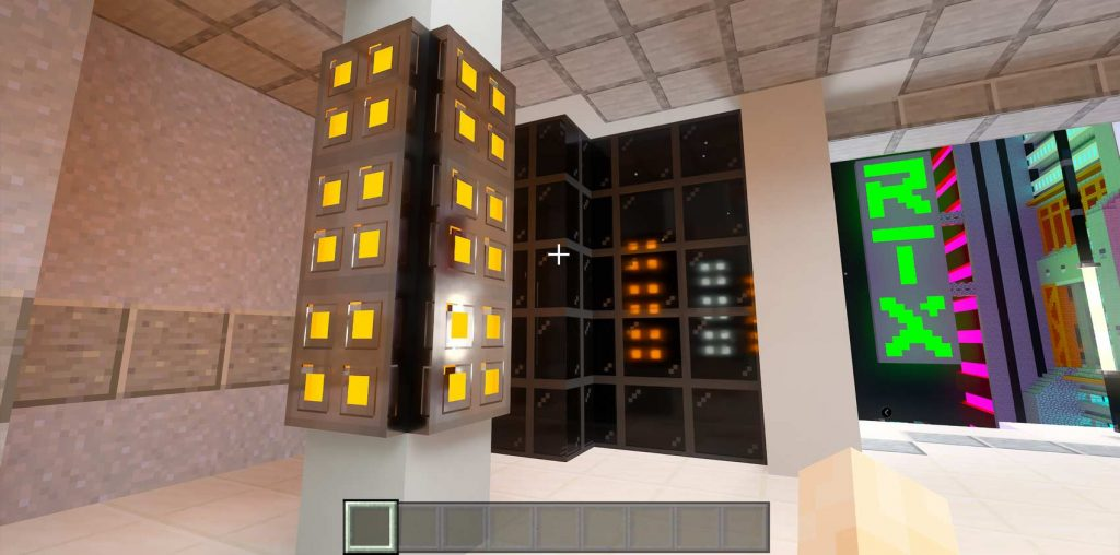 Matériaux PBR Minecraft RTX On