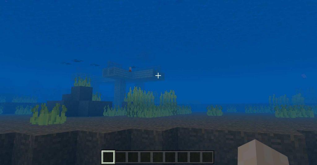 lumière sous l'eau RTX off