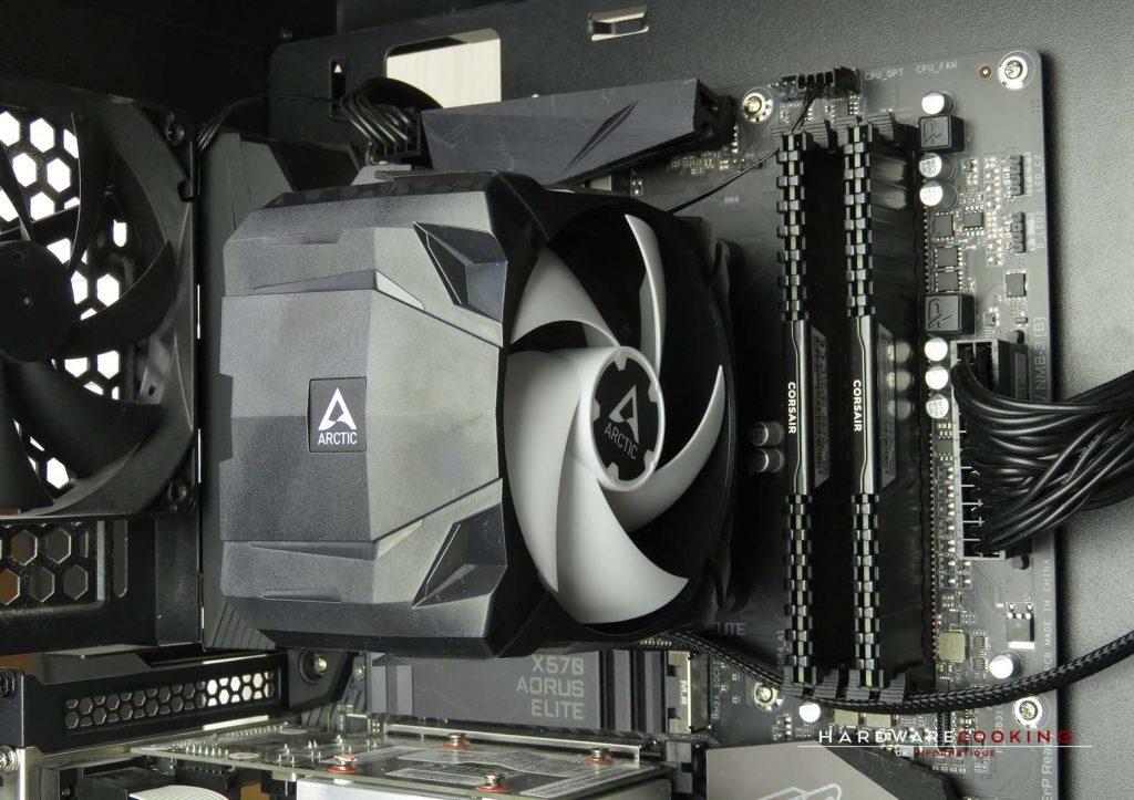 Test ARCTIC Freezer 7X montage final