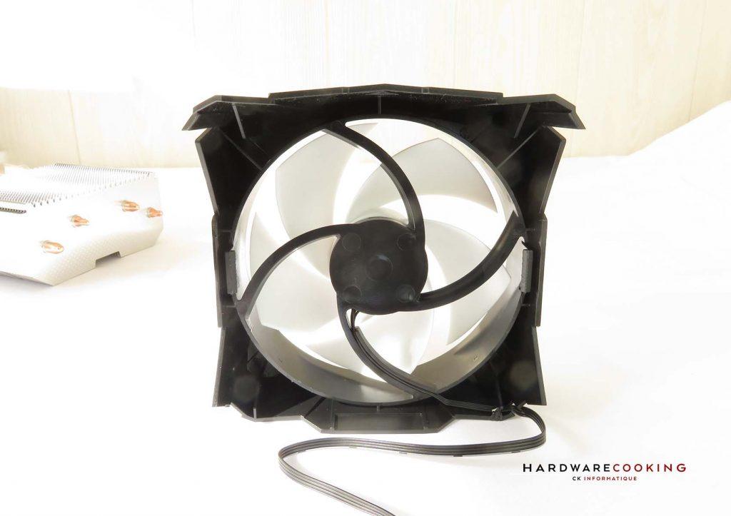 Test ARCTIC Freezer 7X ventilateur