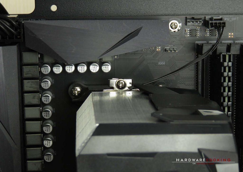 Test ARCTIC Freezer 7X montage