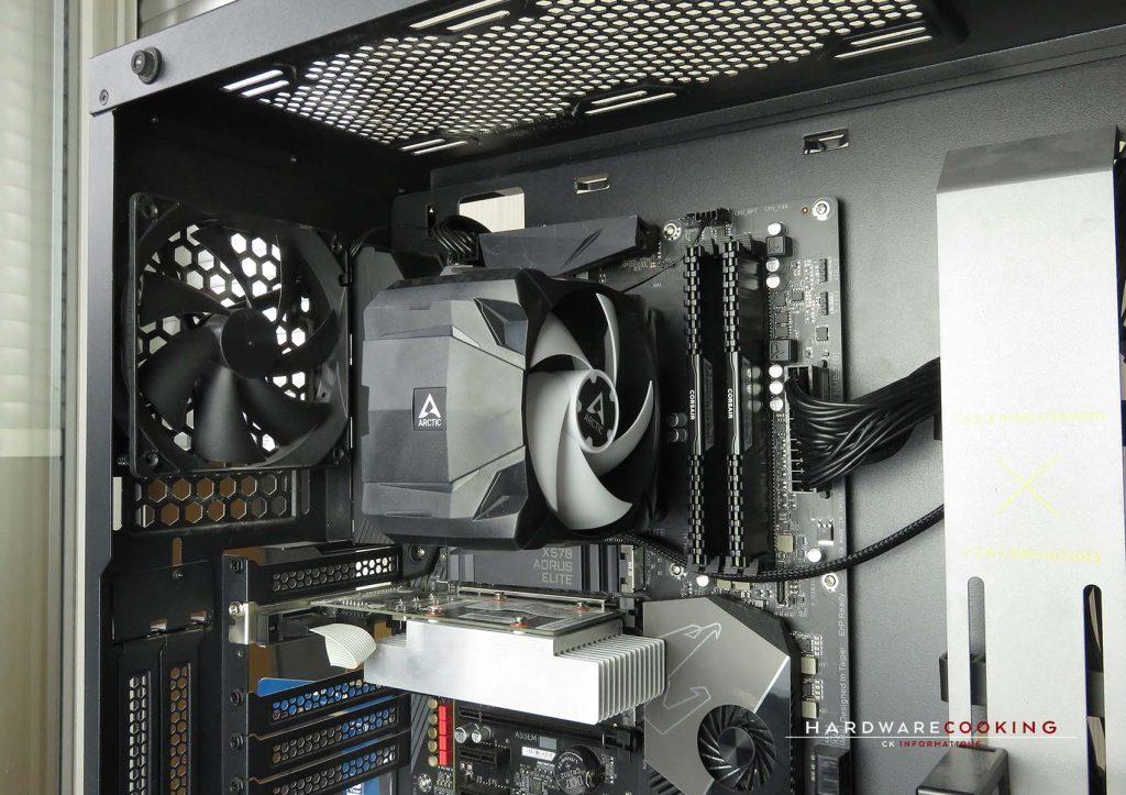 Test ARCTIC Freezer 7X vue ensemble