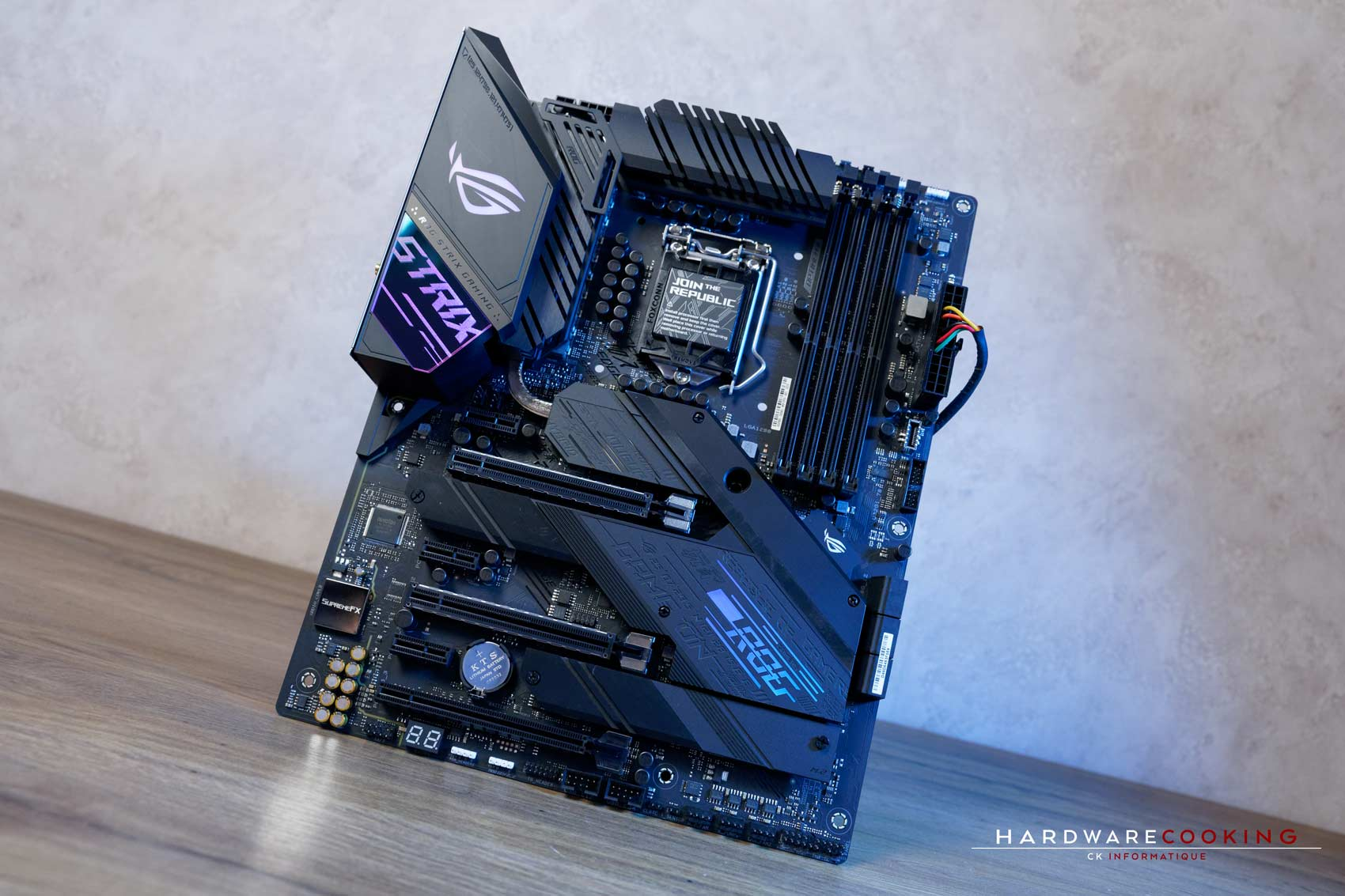 Test carte mère ASUS ROG STRIX Z490-E GAMING