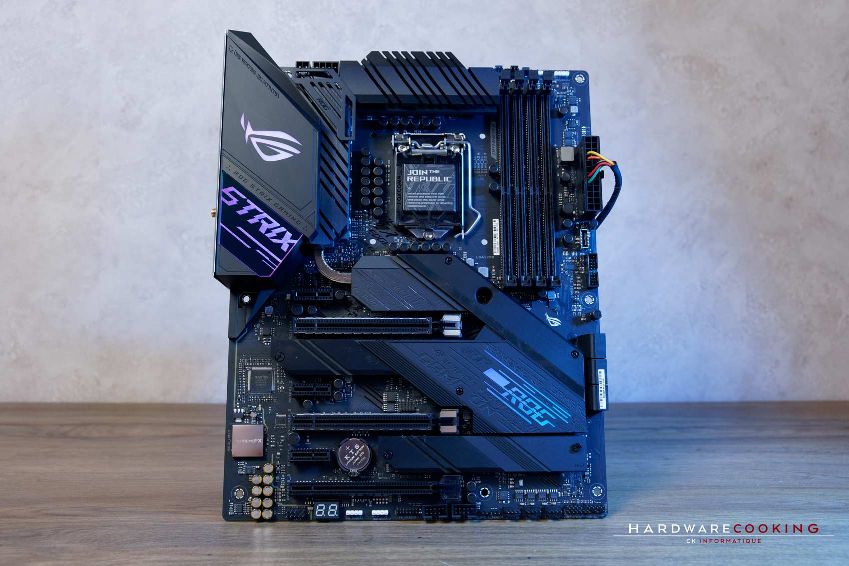 Carte mère ASUS ROG STRIX Z490-E GAMING