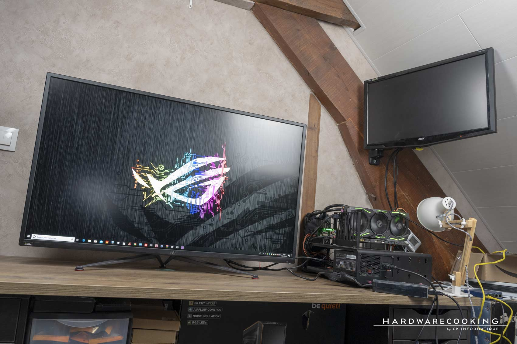 test écran gamer ASUS ROG Swift PG43UQ