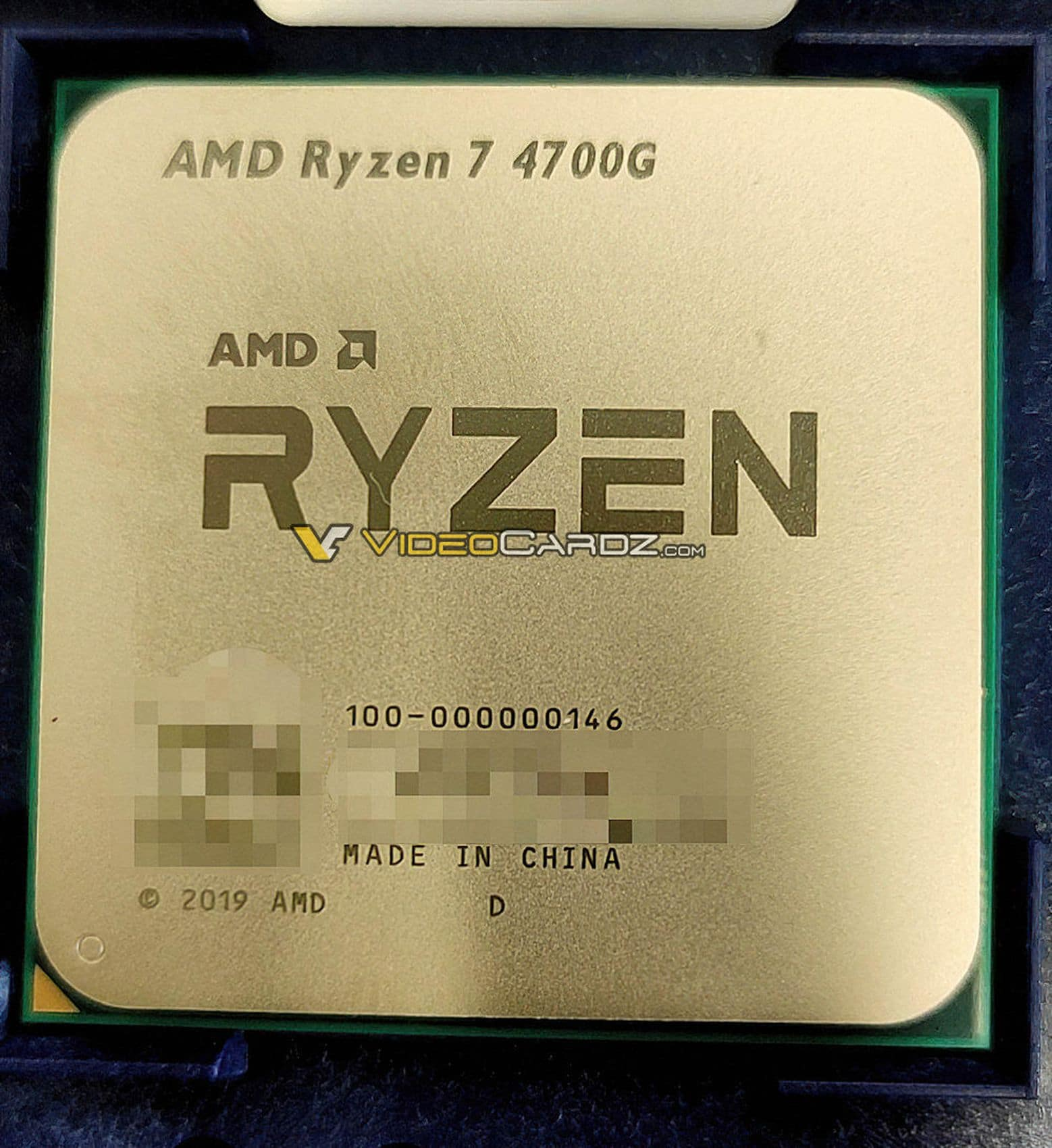 APU AMD Ryzen 7 4700G