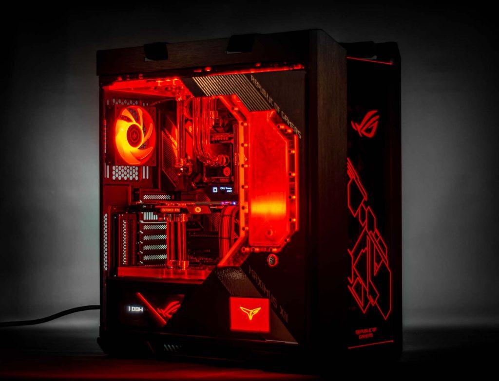mod ASUS ROG Strix Helios Snef Computer Design