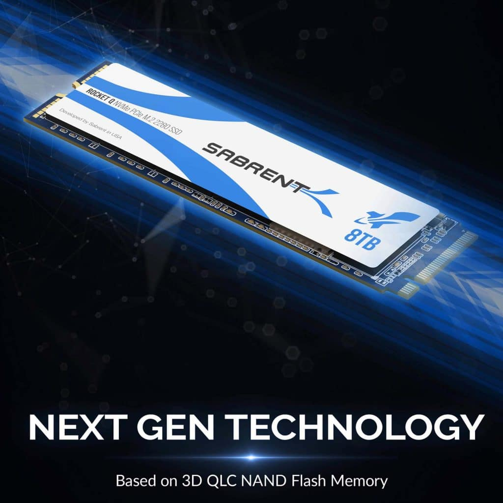 SSD Sabrent Rocket Q 8 To