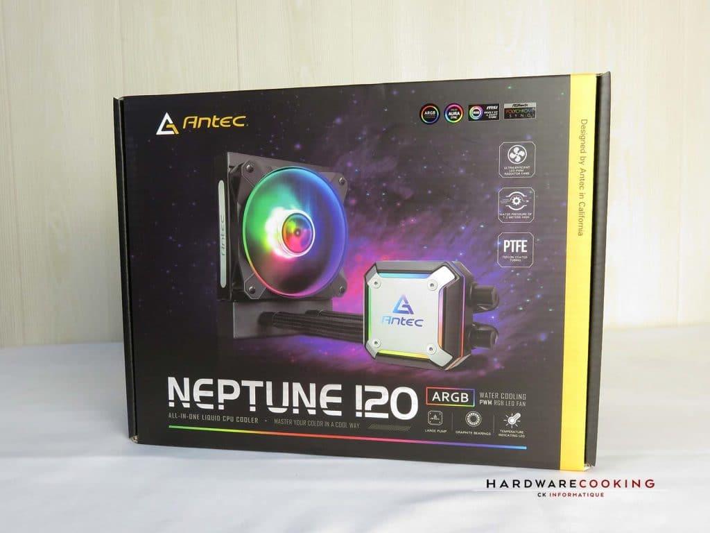 ANTEC Neptune 120 ARGB boîte