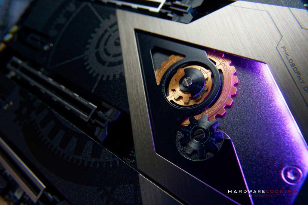 Éclairage RGB ASRock Z490 Taichi