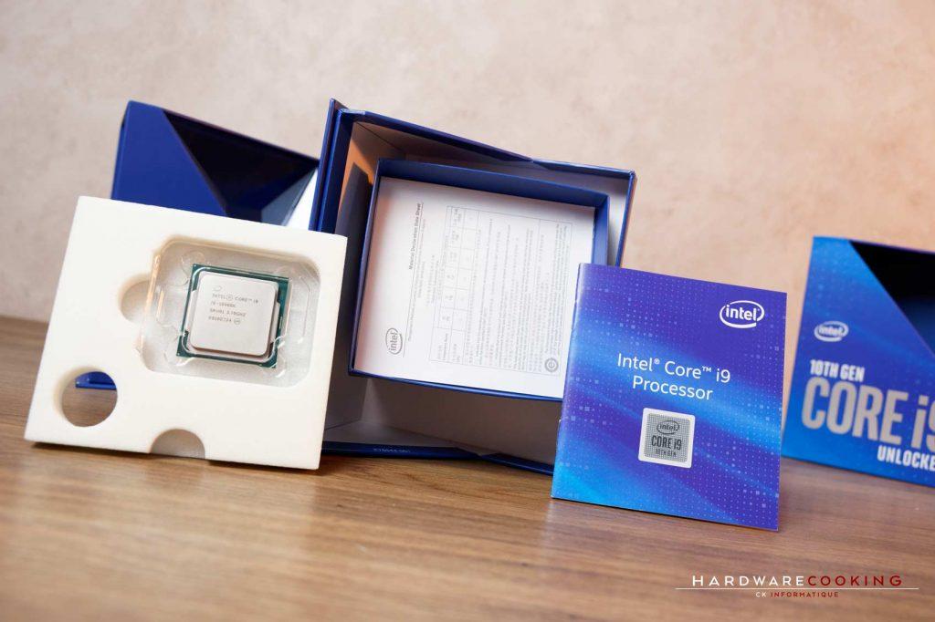 boîte processeur Intel Core i9-10900K