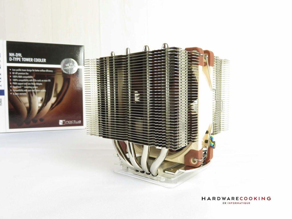 test Noctua NH-D9L radiateur et ventilateur
