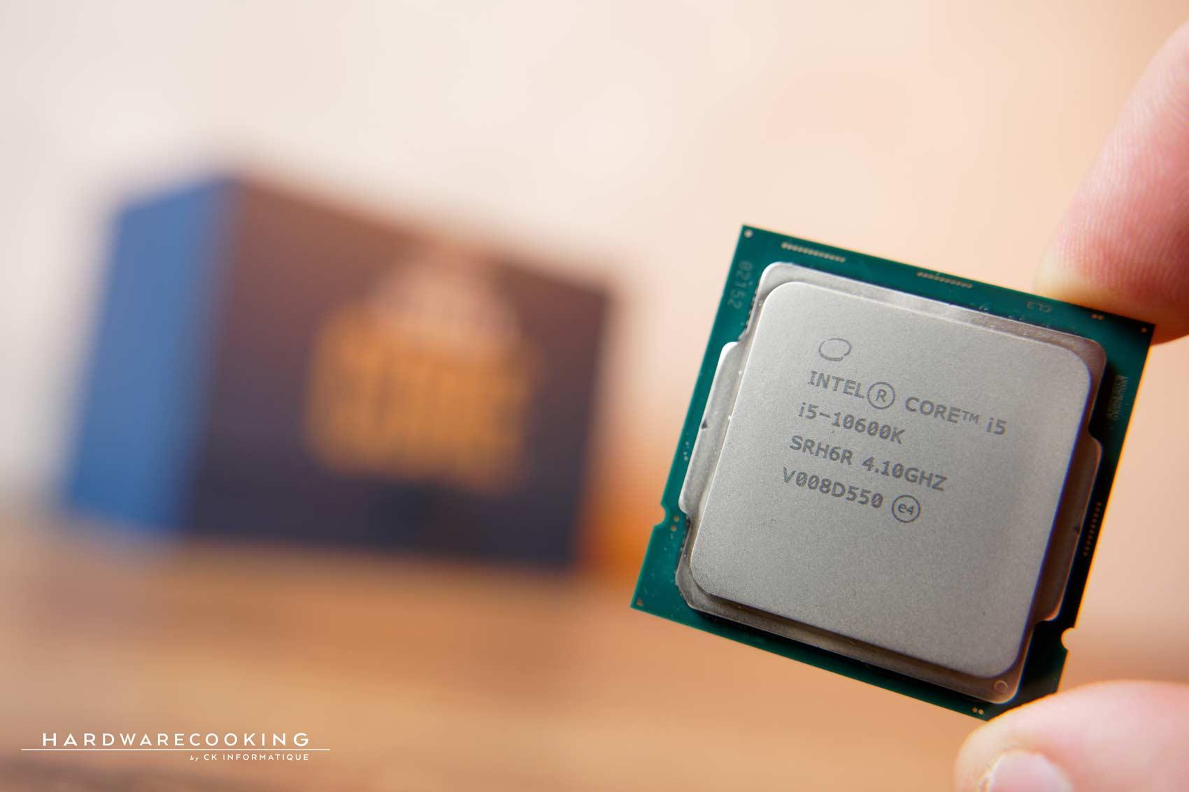 Test processeur Intel Core i5-10600K