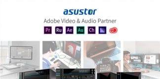 ASUSTOR partenaire Adobe