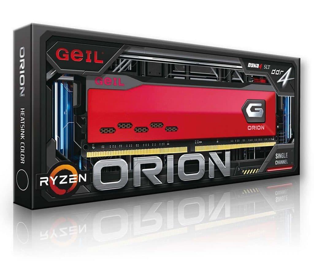 Geil ORION AMD Edition boîte