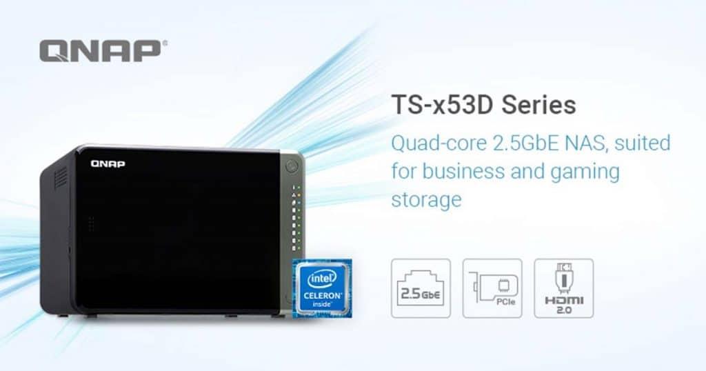 NAS QNAP TS-x53D
