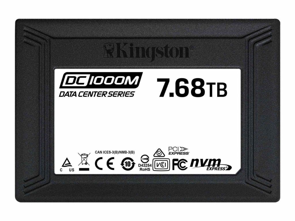 SSD Kingston DC1000M 7,68 To