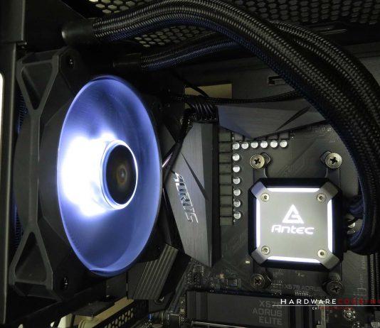 Neptune 120 ARGB montage allumé
