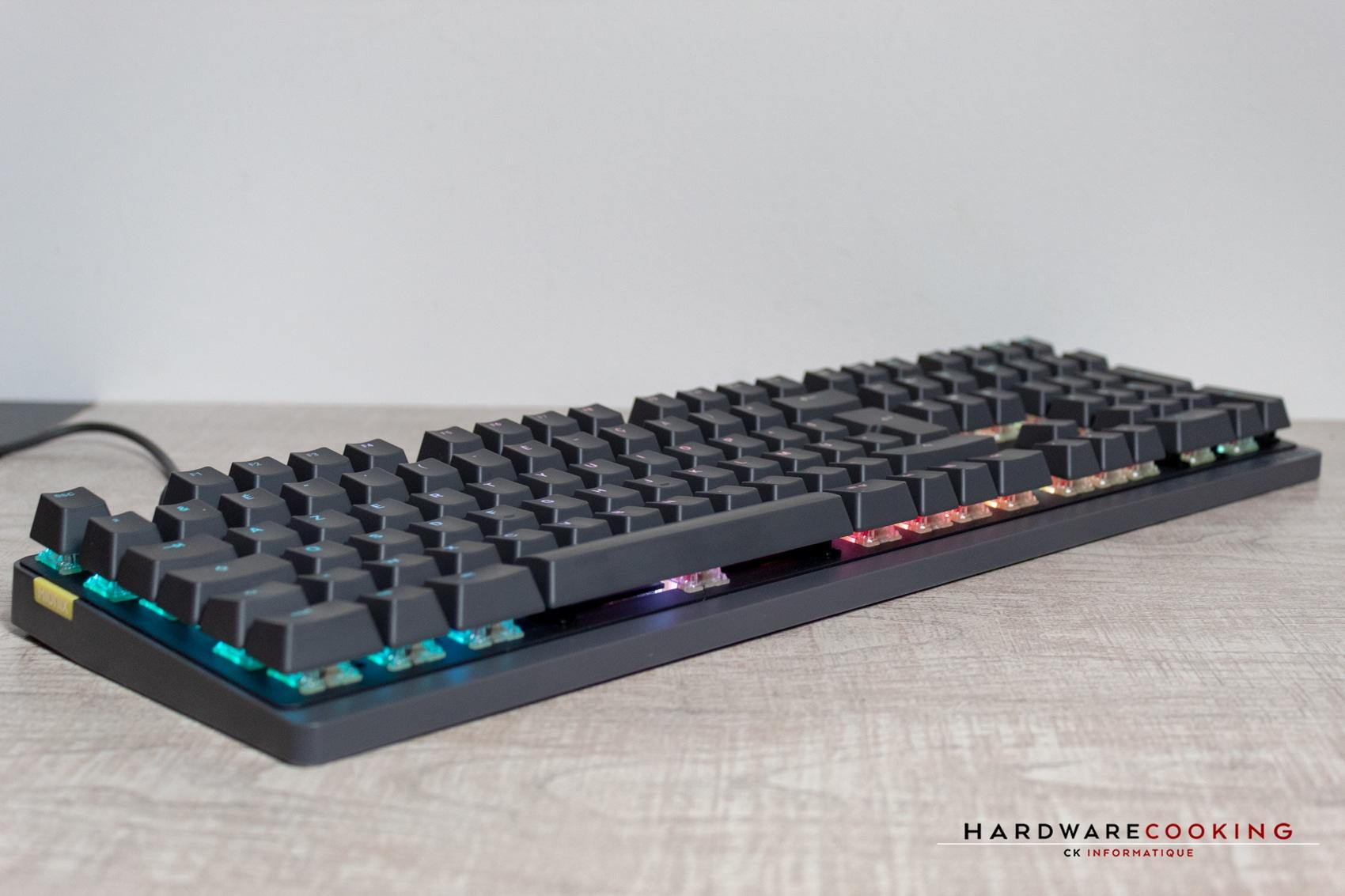 Test clavier Mionix Wei