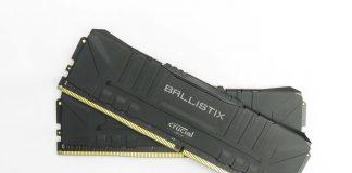 Test Crucial BALLISTIX 2x8 Go 3600 MHz