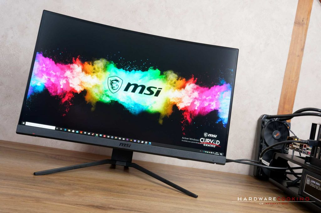 Test écran MSI Optix MAG272CQR