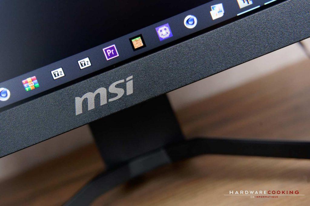 Test écran MSI Optix MAG321CURV