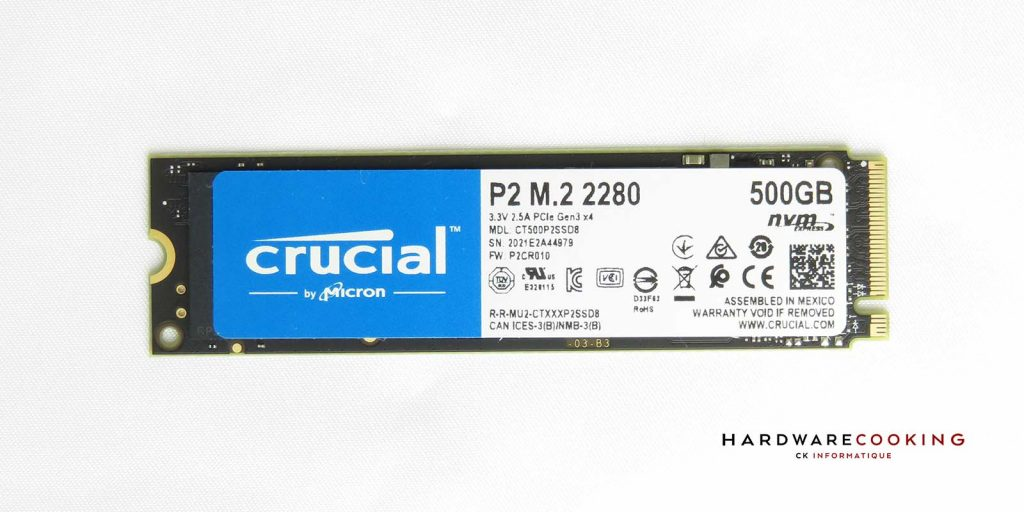 puces Micron 3D NAND TLC