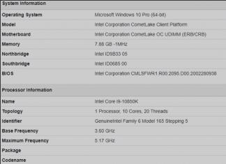 benchmark intel core i9-10850K