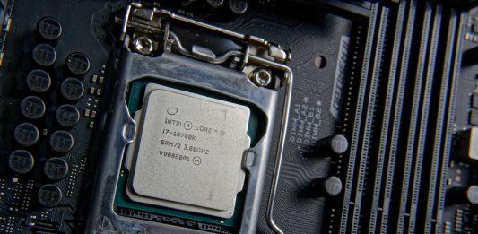 Test Intel Core i7-10700K