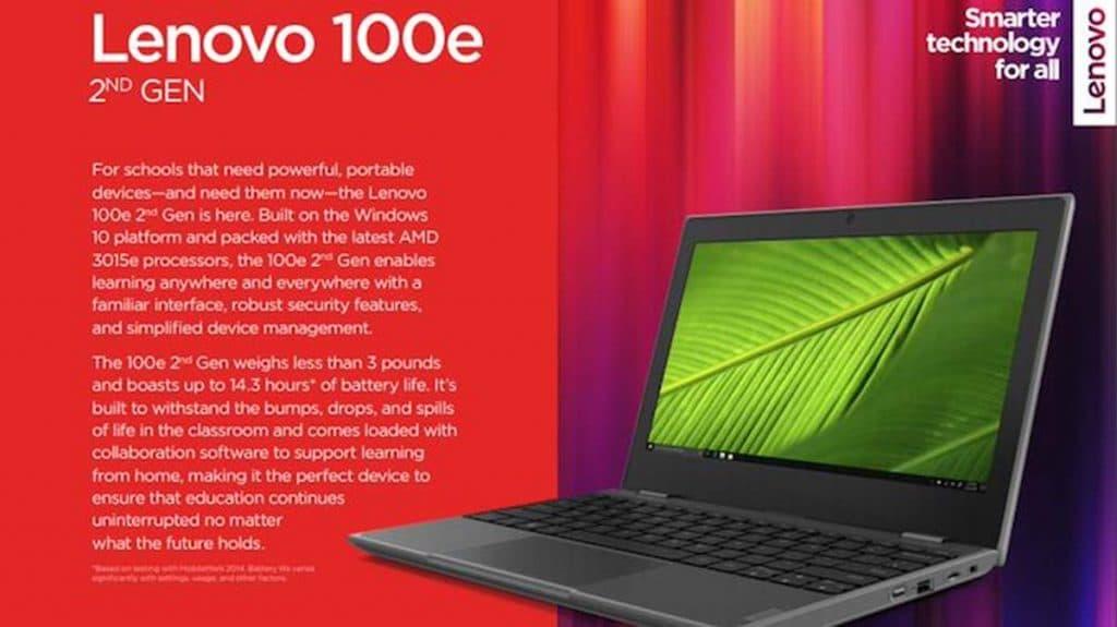 Lenovo 100e 2nd Gen