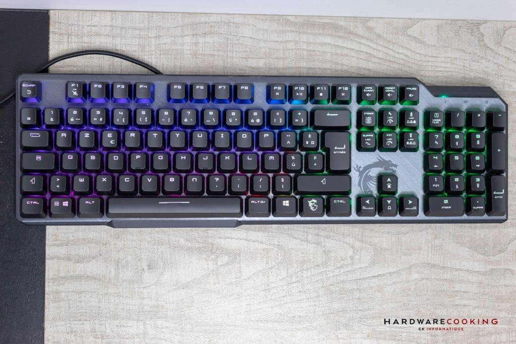Test MSI Vigor GK50 Elite