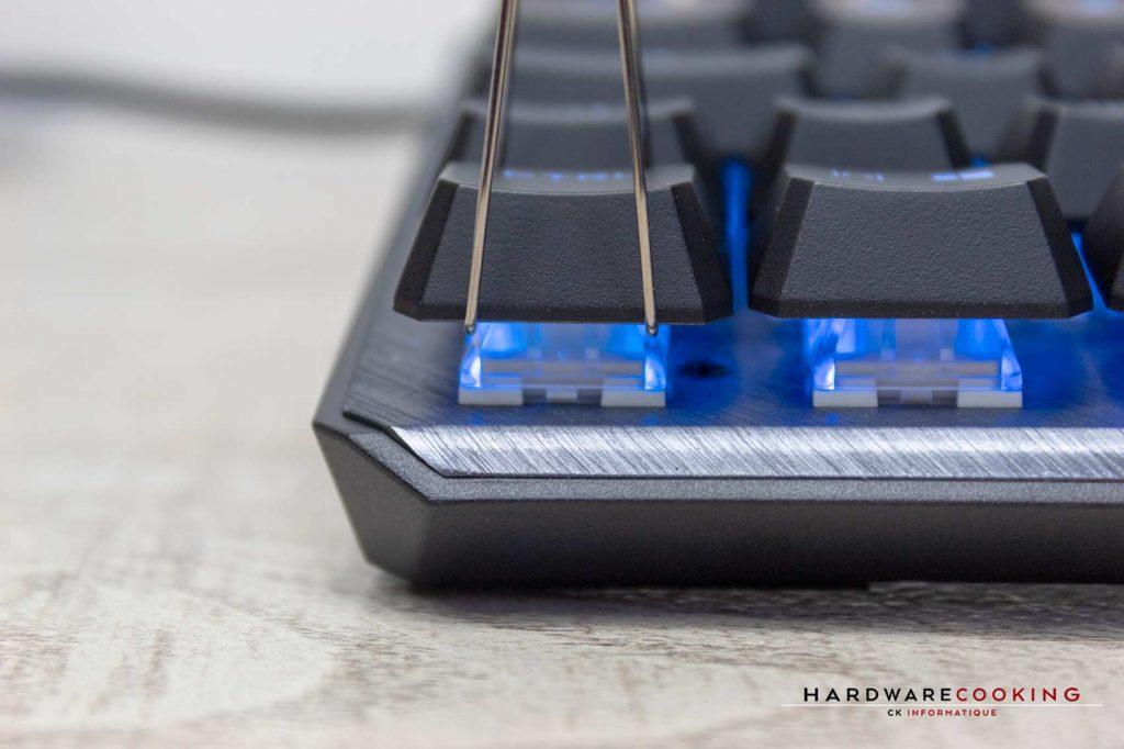 test clavier MSI VIGOR GK50 ELITE