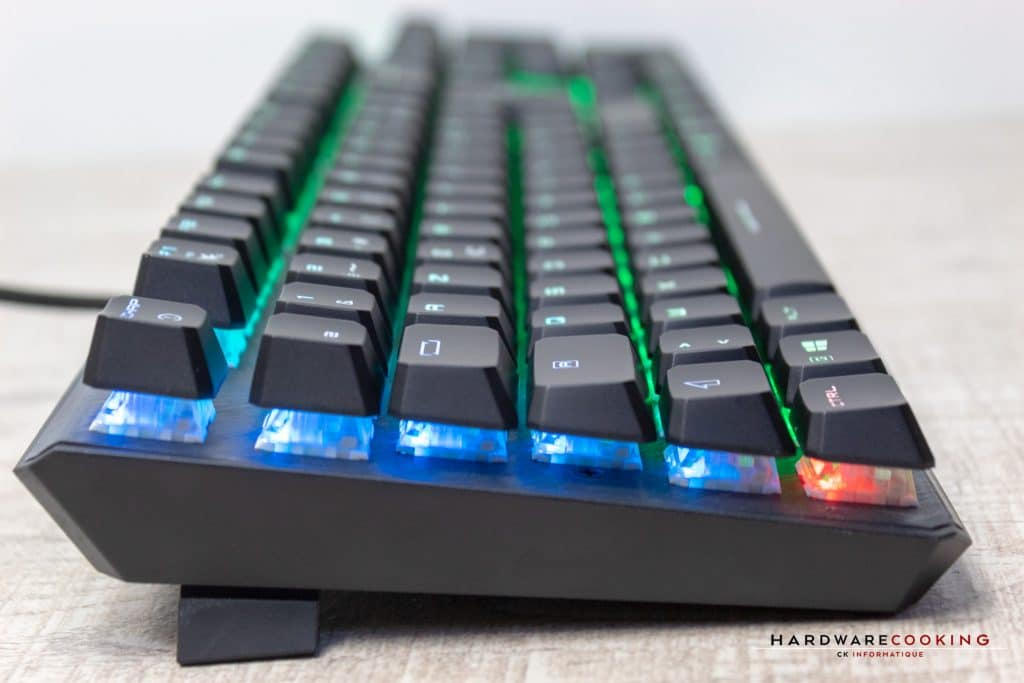 Rétroéclairage RGB MSI VIGOR GK50 ELITE