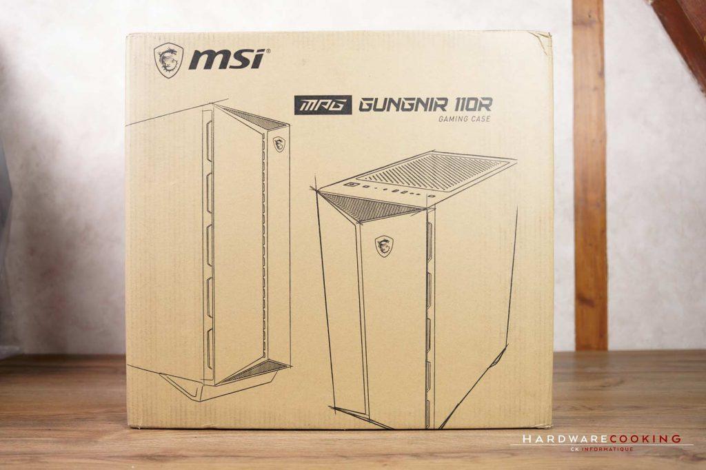 carton boîtier MSI