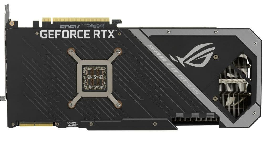 ASUS ROG Strix backplate