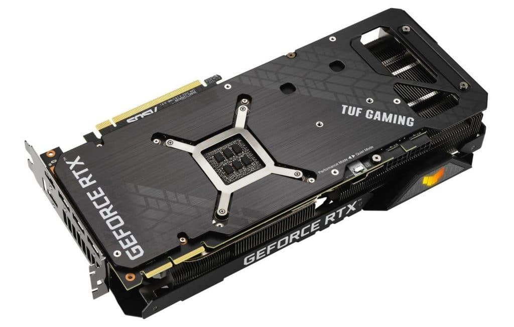backplate TUF GAMING