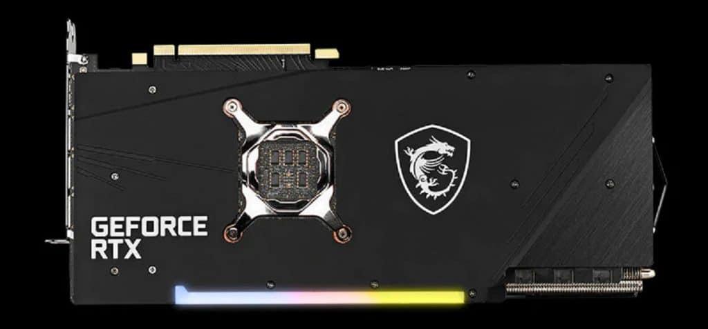 MSI GeForce RTX 3080 GAMING Trio
