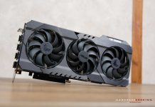 Test ASUS TUF RTX 3080 O10G Gaming