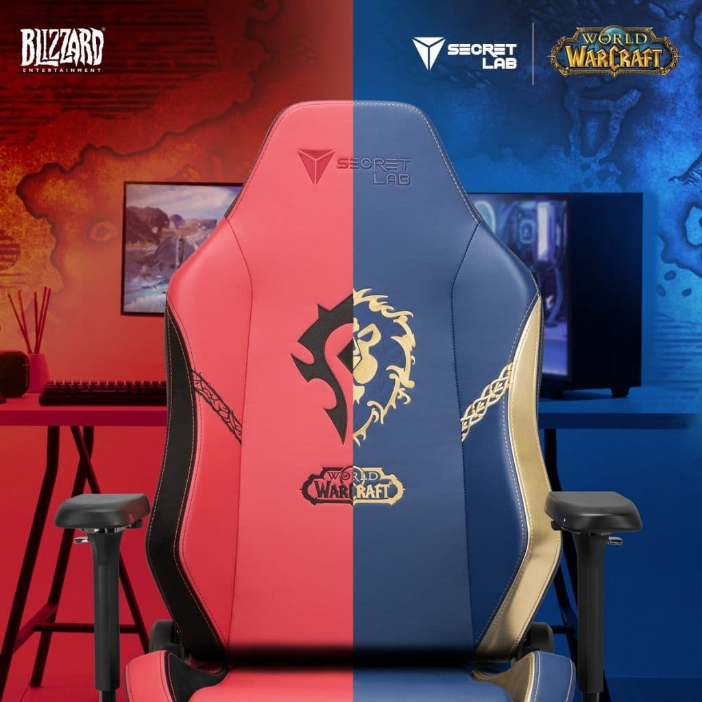 Secretlab fauteuil World of Warcraft