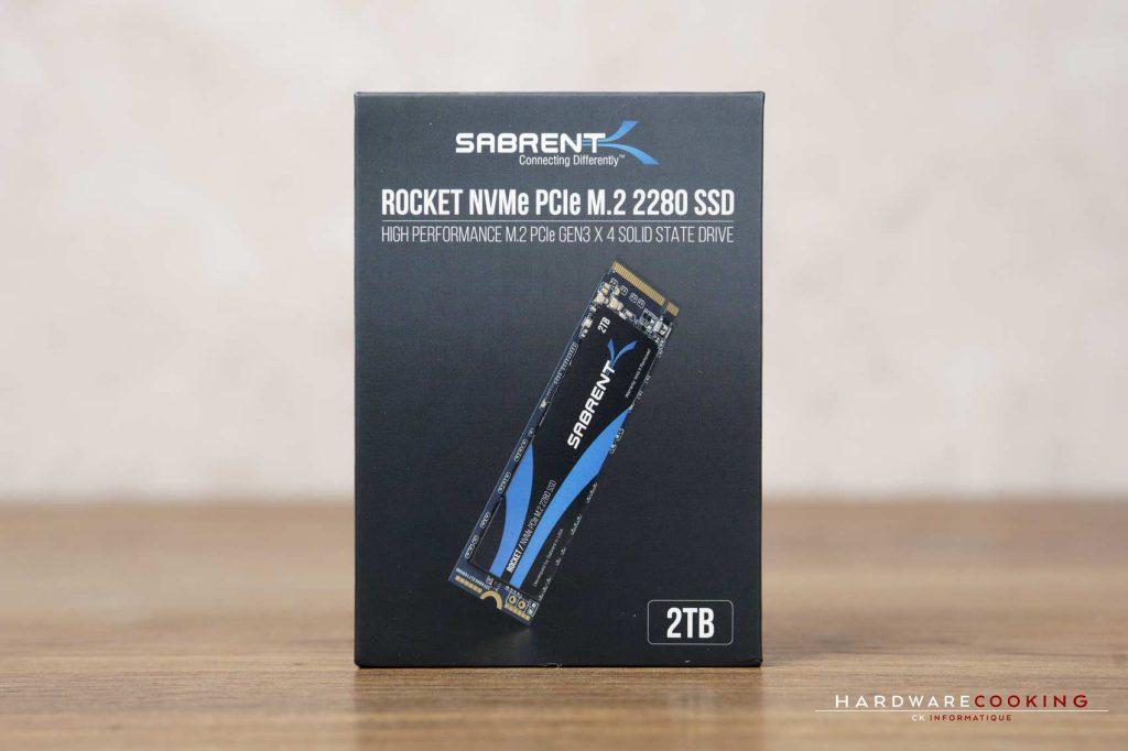 Test SSD Sabrent Rocket 2 To