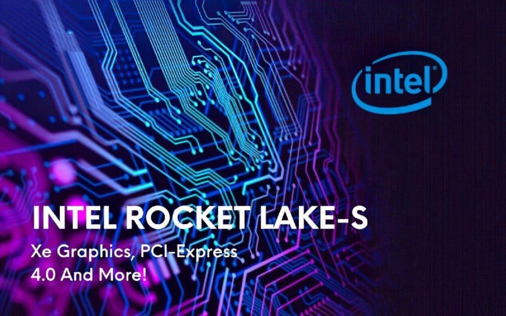 Intel Rocket Lake-S nouveautés