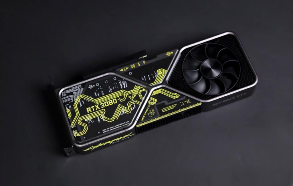 NVIDIA GeForce RTX 3080 Cyberpunk 2077 Edition