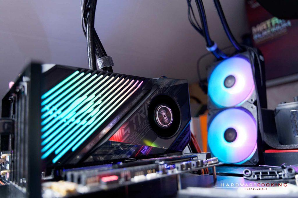 RGB ASUS ROG Strix LC RX 6800 XT OC