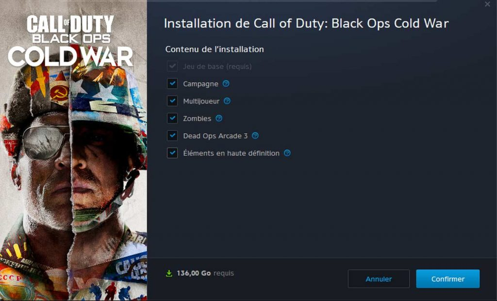 Test Call of Duty: Cold War benchmark performances cartes graphiques