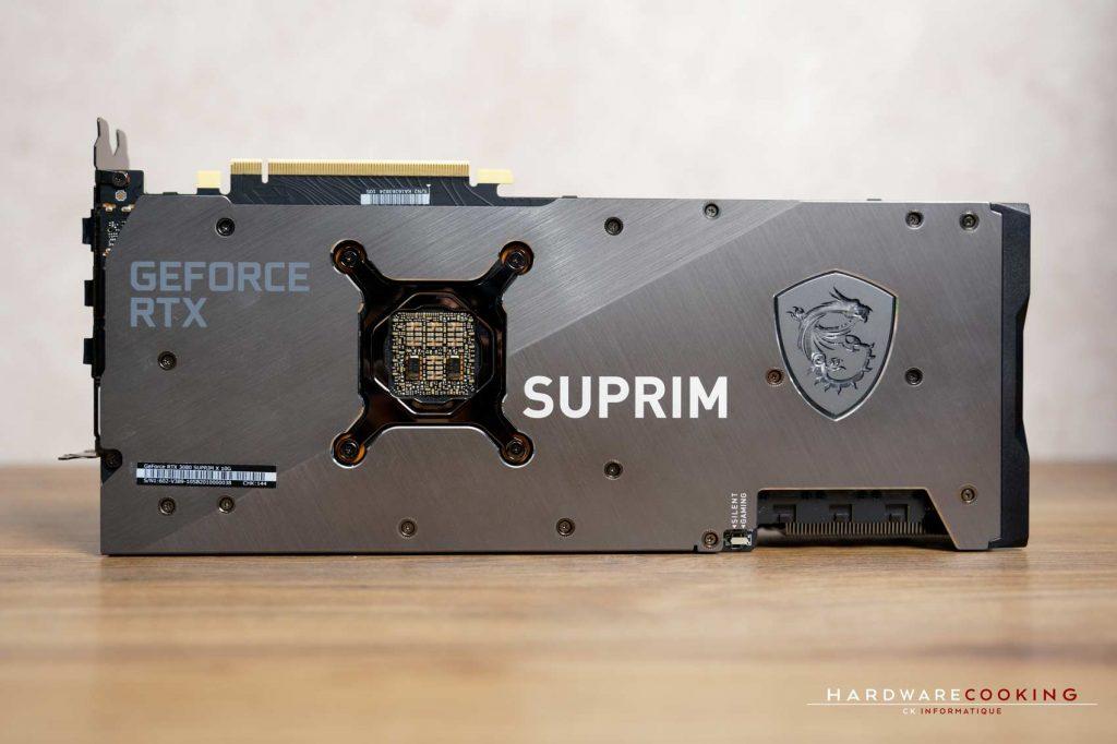 Test MSI RTX 3080 SUPRIM X